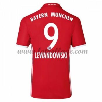 Fotbollströjor Bayern Munich 2016-17 Lewandowski 9 Hemmatröja