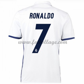 Fotbollströjor Real Madrid 2016-17 Ronaldo 7 Hemmatröja