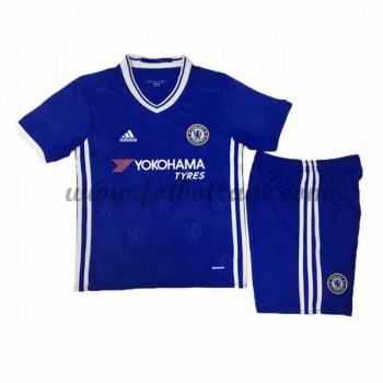 Chelsea Fotbollströjor Barn 2016-17 Hemma Matchtröja