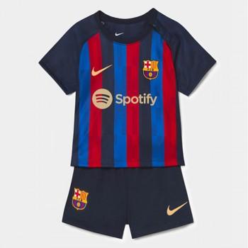 Barcelona Fotbollströjor Barn 2018-19 Hemma Matchtröja