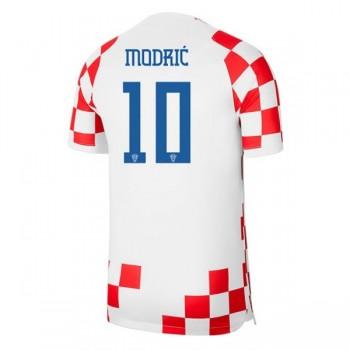 Billiga Fotbollströjor Kroatien VM 2018 Luka Modric 10 Hemmatröja