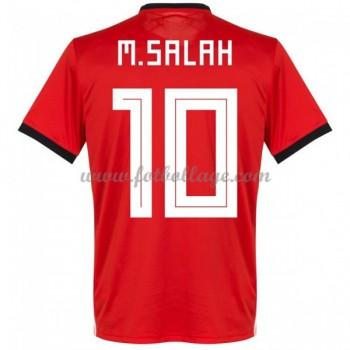Billiga Fotbollströjor Egypt VM 2018 Mohamed Salah 14 Hemmatröja