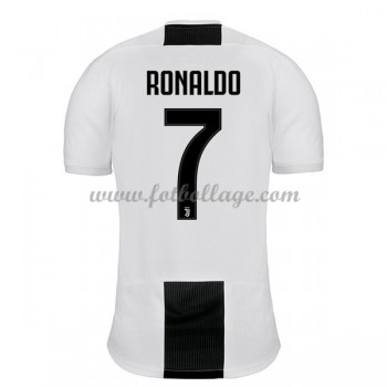 Fotbollströjor Juventus 2018-19 Cristiano Ronaldo 7 Hemmatröja