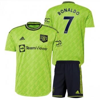 Juventus Fotbollströjor Barn 2018-19 Cristiano Ronaldo 7 Tredje Matchtröja
