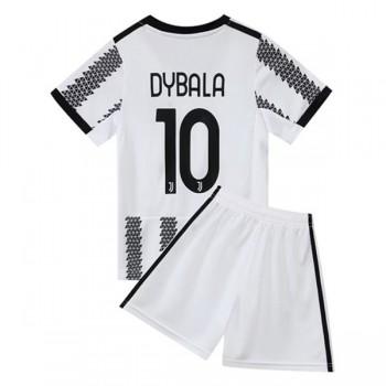 Juventus Fotbollströjor Barn 2018-19 Paulo Dybala 10 Hemma Matchtröja