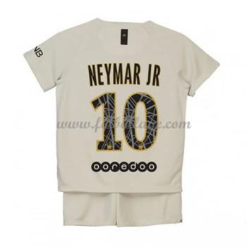Paris Saint Germain PSG Fotbollströjor Barn 2018-19 Neymar Jr 10 Borta Matchtröja